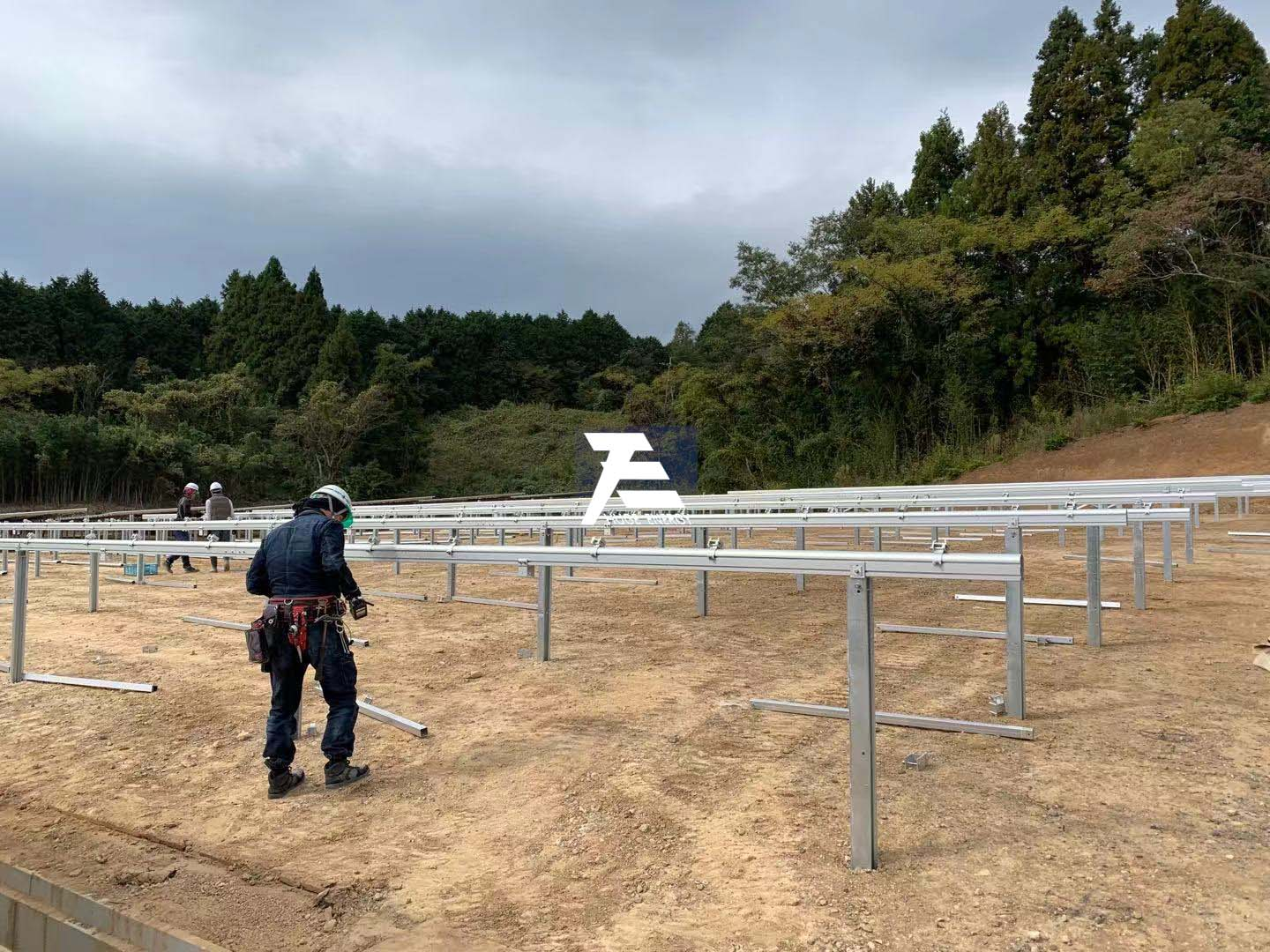 Huge Energy Solar mounting system 32MW